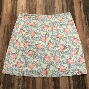 Vineyard vines cocktail lemonade drink skirt 6
